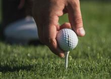 How high should you really tee up your golf ball? Here's the answer...