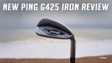 NEW PING G425 Irons Review   Best Game Improvement Iron of 2021?