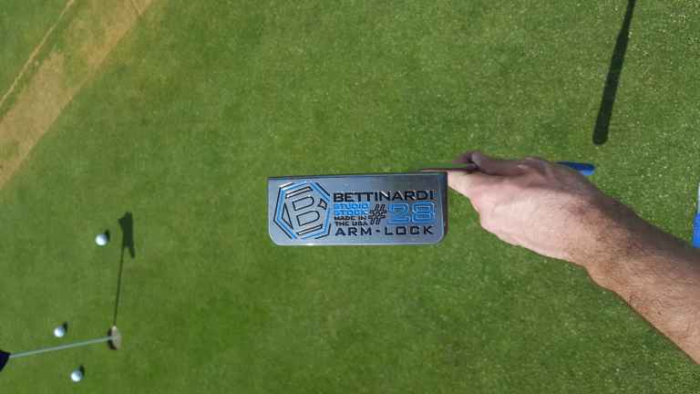 Bettinardi Studio Stock 28 and Arm Lock putter review