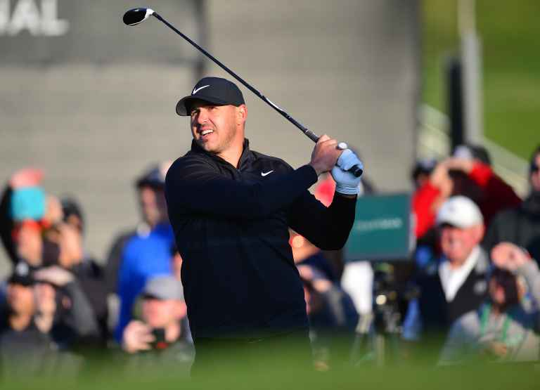 """Koepka on Reed: """"He was building sand castles in the sand"""""""