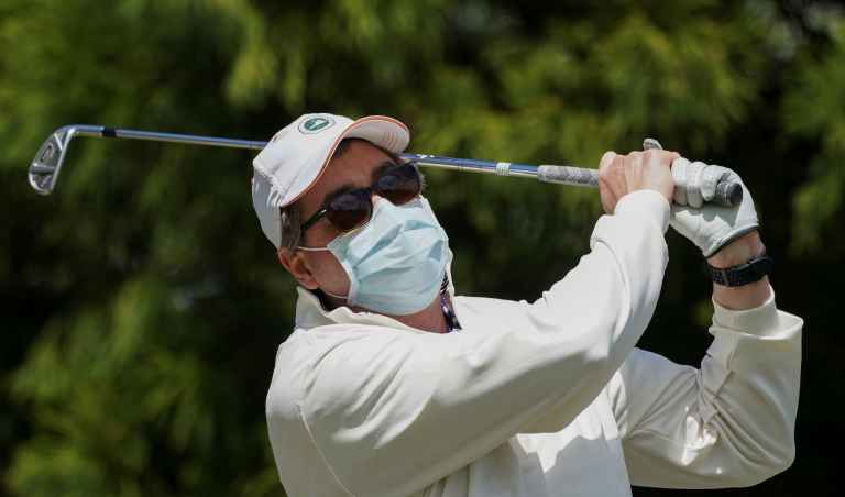 More than HALF of golf courses in USA are now open
