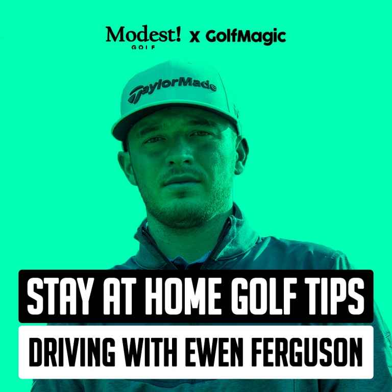 Stay At Home Golf Tip #3: Ewen Ferguson talks driver rhythm