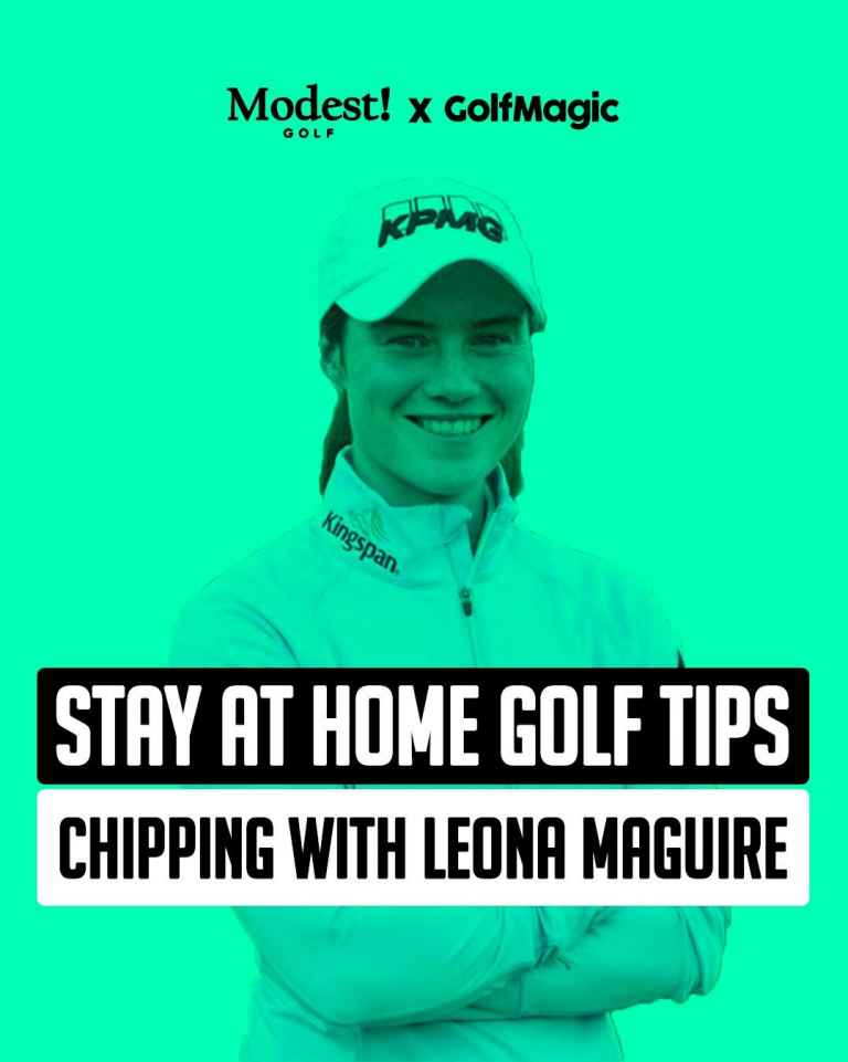Stay At Home Golf Tip #2: Leona Maguire talks chipping