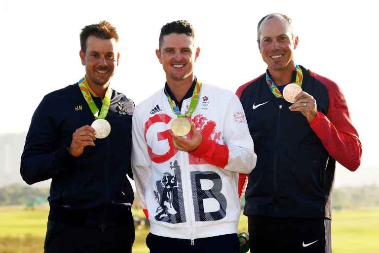 Brooks Koepka and Dustin Johnson not fussed about 2020 Olympics