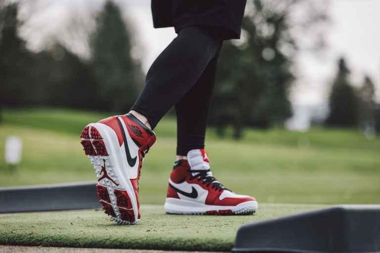 Air Jordan's 1 High-Top golf shoe revealed