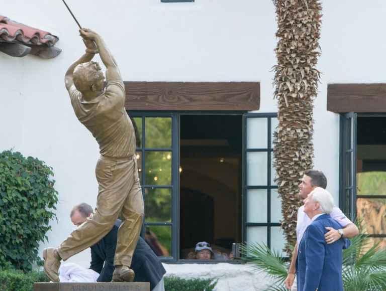La Quinta unveils Arnold Palmer statue