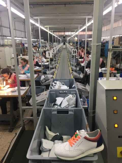 Duca Del Cosma steps up golf shoe production in Europe