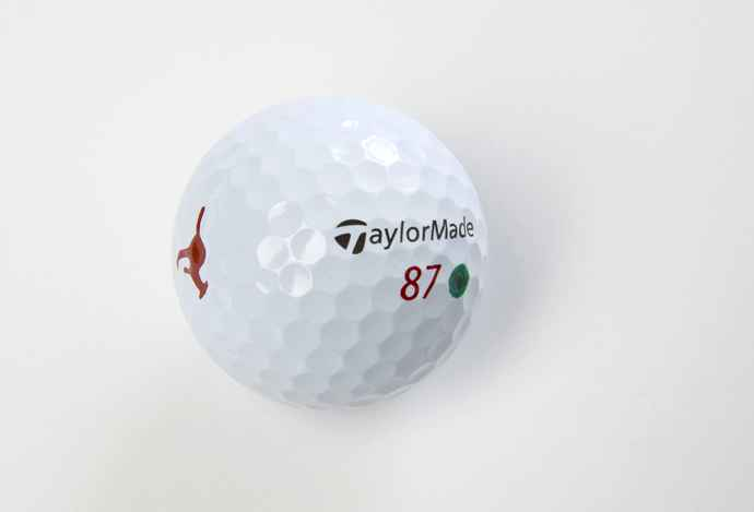 #2 - How Jason Day marks his golf ball