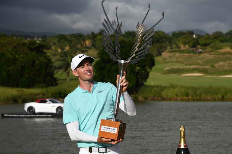 Dylan Frittelli uses compass en route to winning Mauritius Open