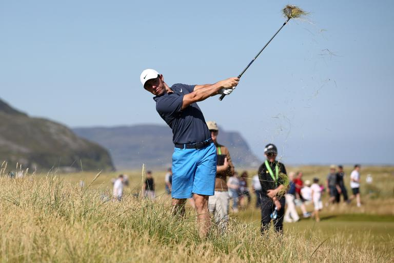 You won't believe how DEEP the rough is at this week's Irish Open