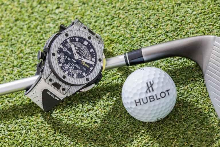 Dustin Johnson to promote Hublot's new golf watch