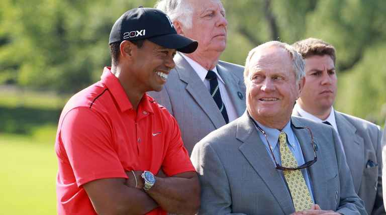 "Jack Nicklaus: ""It will be tough"" for Tiger Woods to break my record"