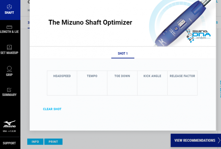 Mizuno's Swing DNA system gets an upgrade