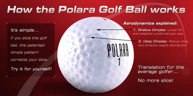 You can now buy ILLEGAL golf balls that fly DEAD STRAIGHT!