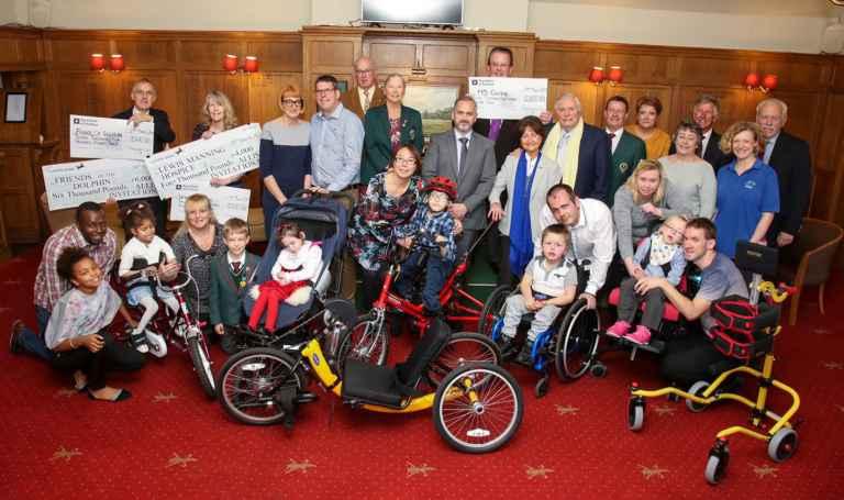 Ferndown Golf Club's £50,000 donations