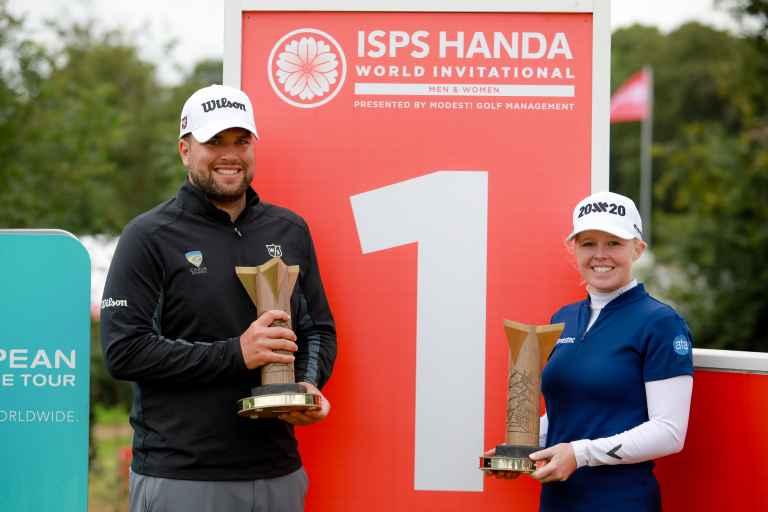 Jack Senior and Stephanie Meadow win World Invitational titles
