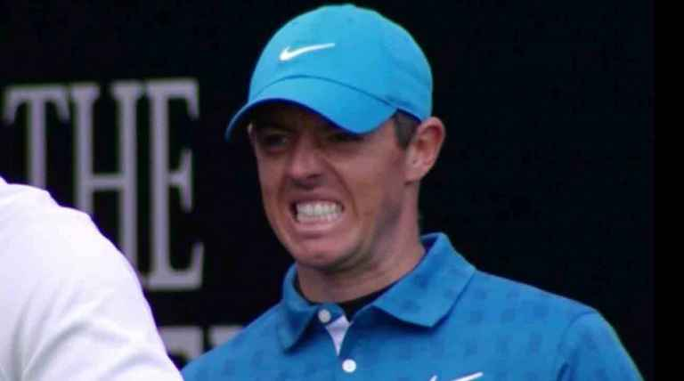 Rory McIlroy starts Open with quadruple, ends with triple for 79...