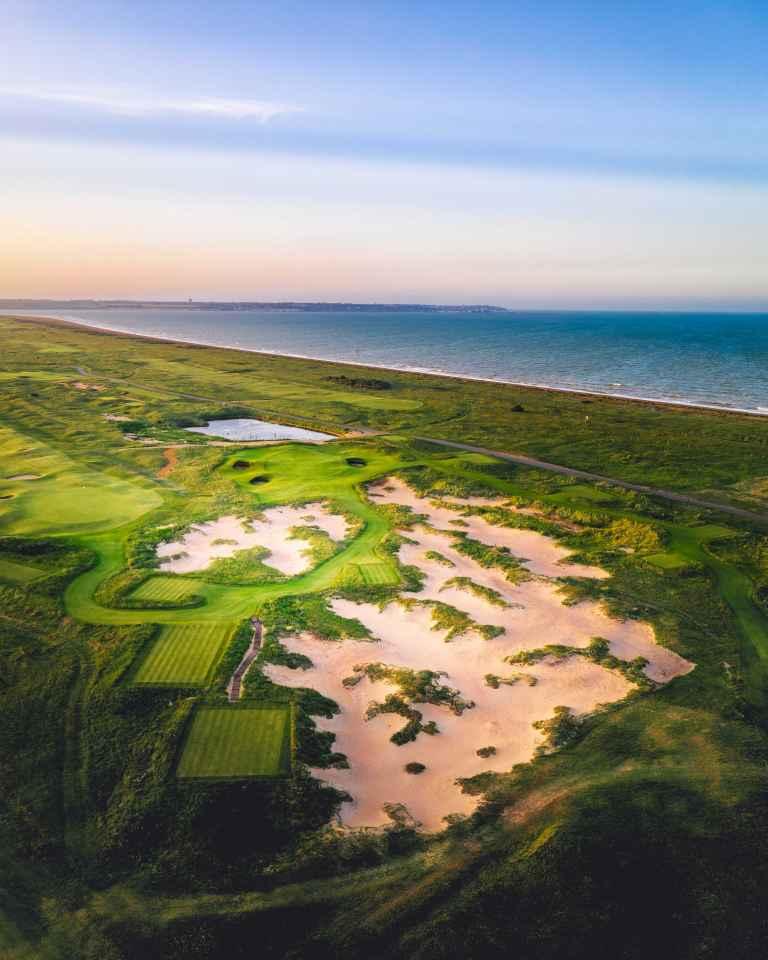 Prince's Golf Club opens new par-3 hole, Smugglers' Landing