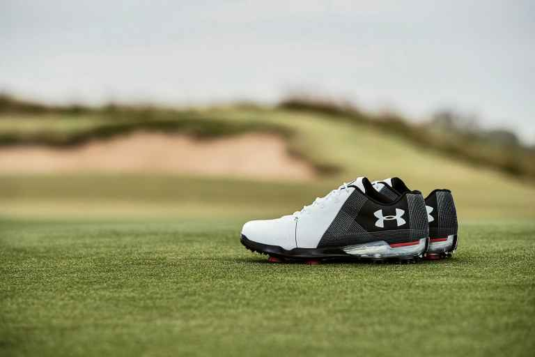 Spieth debuts UA Spieth 2 golf shoe at Phoenix Open