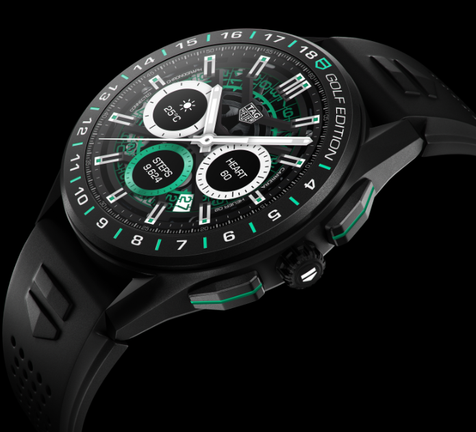 TAG Heuer Connected Golf Edition Watch - FIRST LOOK