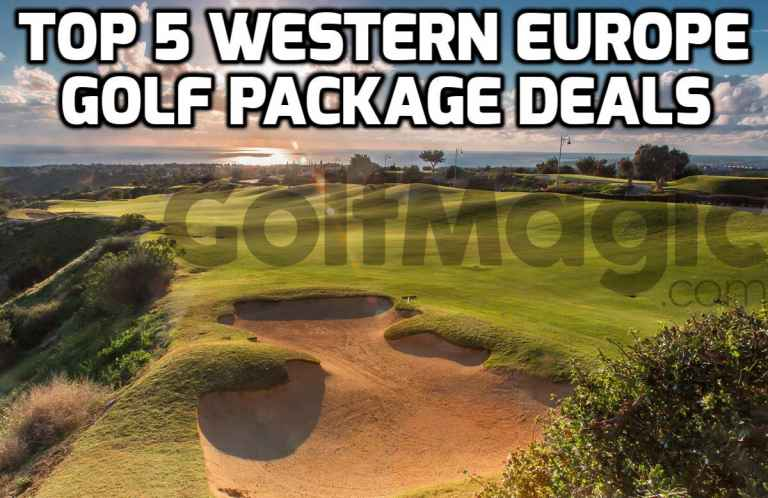 Top 5 Western Europe deals with Golf Escapes