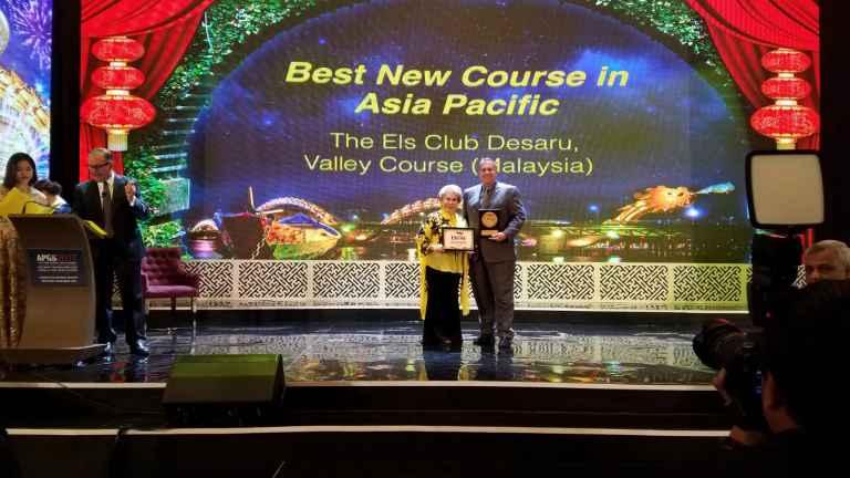 Els Club Desaru Coast Valley Course receives prestigious accolade