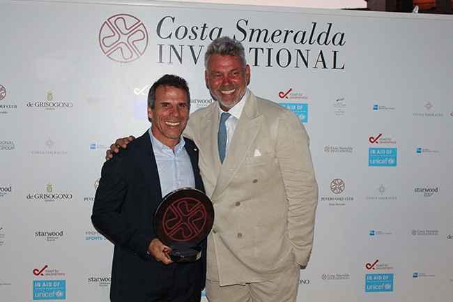 Chelsea legend wins Costa Smeralda Invitational