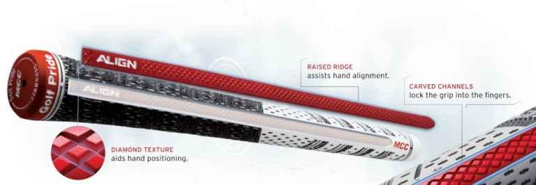 Golf Pride Tour Velvet grip now features ALIGN Technology