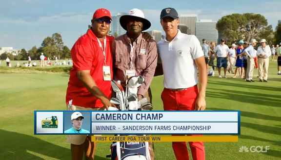 WATCH: Cameron Champ's family struggle with racism