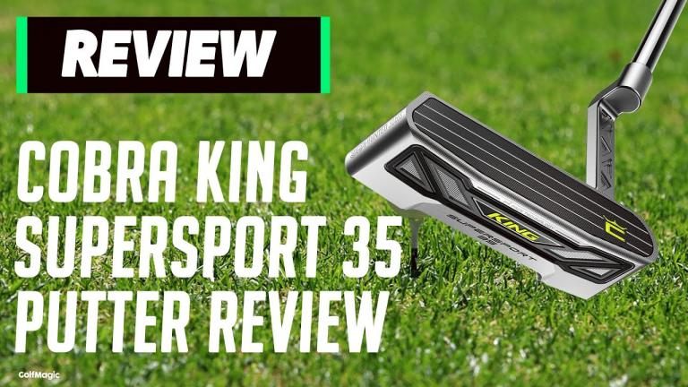 Cobra King Supersport 35 Review: The World's FIRST Commercial 3D Putter!