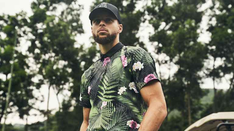 NBA star Stephen Curry and Under Armour debut new golf collection