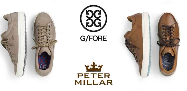 G/Fore and Peter Millar collaborate on new golf shoes