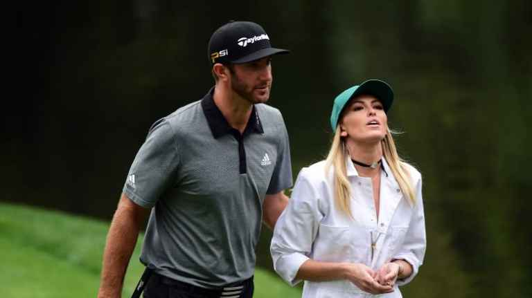 Paulina Gretzky reveals what DJ did on the stairs at 2017 Masters