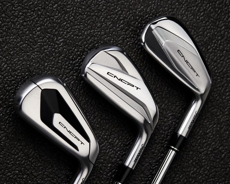 Titleist introduce new CNCPT irons constructed from exotic high-performance materials