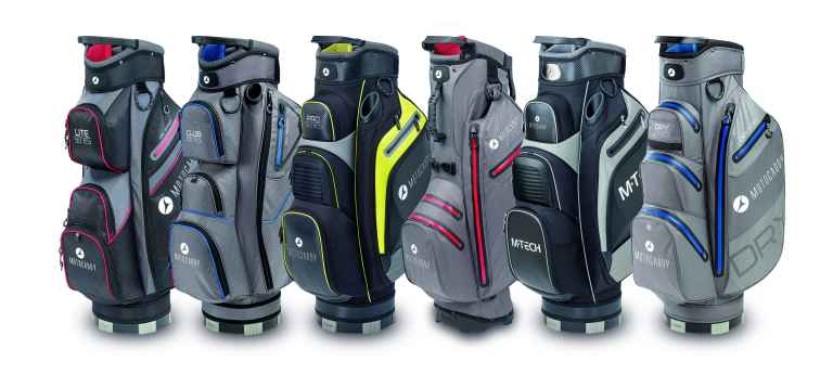 Motocaddy introduces five new bags for 2020 season