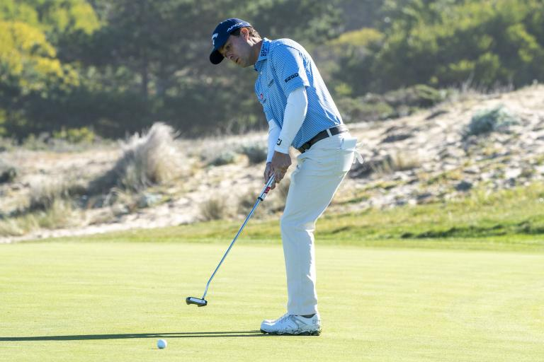 Golf fans ridicule Kevin Kisner for his BIZARRE putting drill