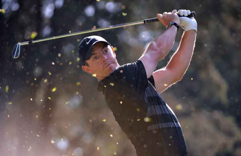 Mackenzie Hughes leads Travelers but Rory McIlroy just three behind