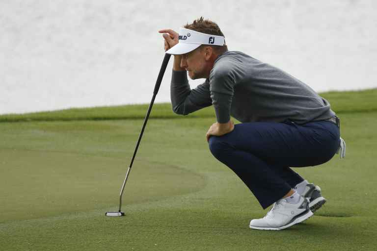 Ian Poulter caught out by microphone during Travelers Championship