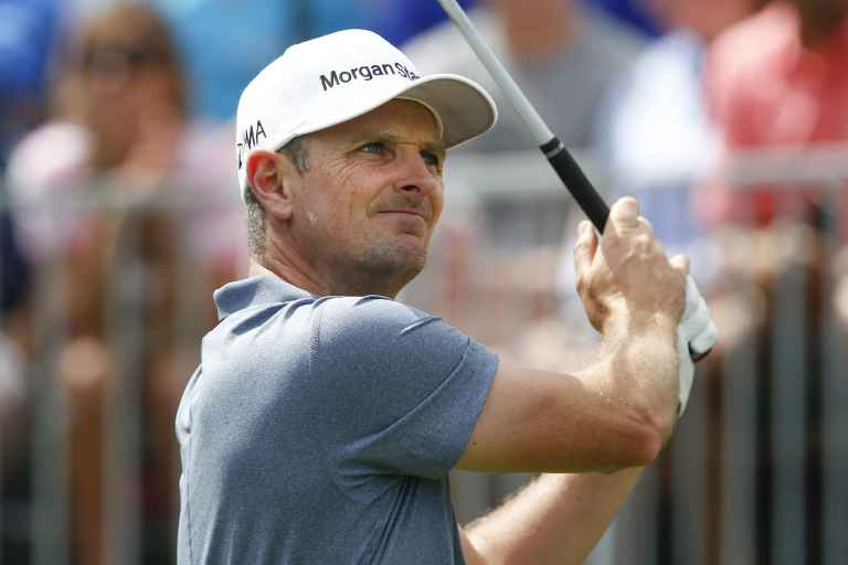 "Justin Rose hopes to ""trend towards"" Roger Federer"
