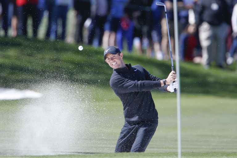 WATCH: Rory McIlroy explains his bunker technique