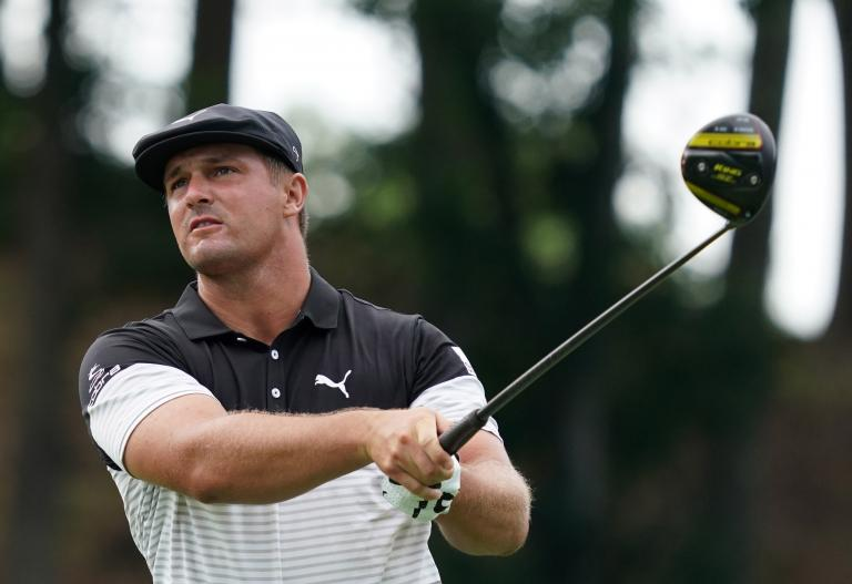 Bryson DeChambeau hits 211mph ball speed then apologises for GRUNTING NOISES