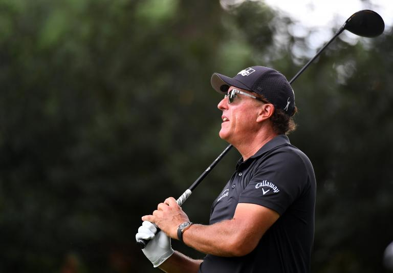 """Phil Mickelson """"doesn't like the risk"""" of 2000 fans in Houston before Masters"""