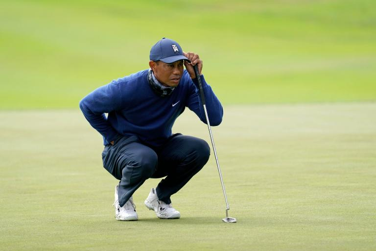 Tiger Woods happy with his new putter at PGA Championship