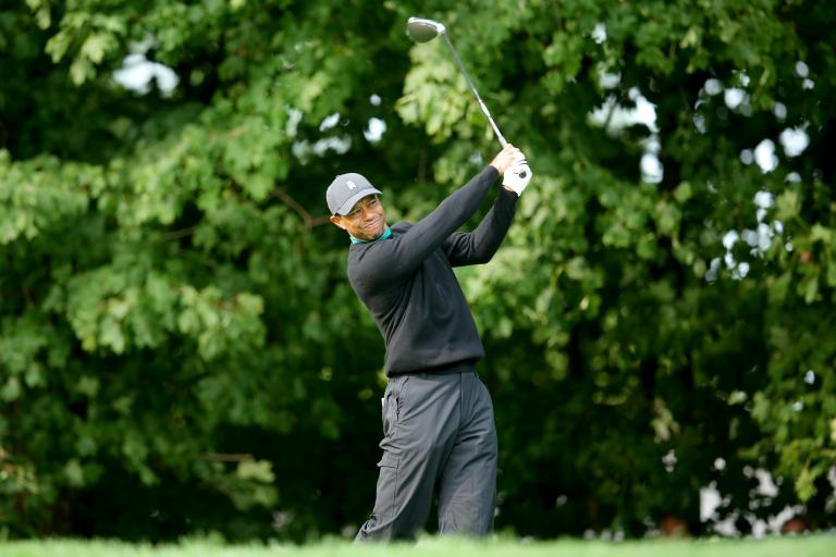 Tiger Woods well back of leaders at US Open after opening round