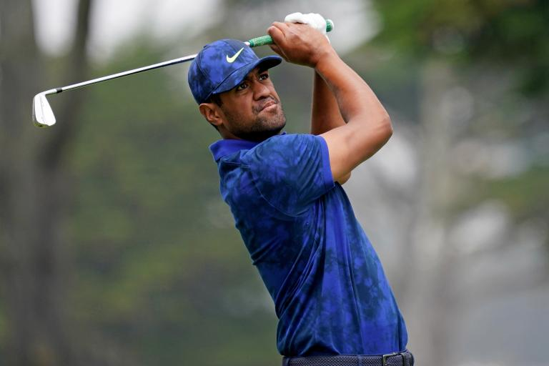 Tony Finau is testing the new PING G425 driver and RIPPING BOMBS