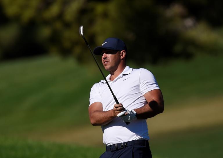 Golf fans react to Brooks Koepka's NINE-MAN ball search