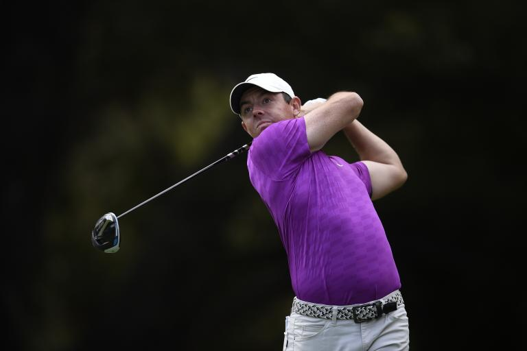 Rory McIlroy SNAPS HIS CLUB in anger during ZOZO Championship opening round