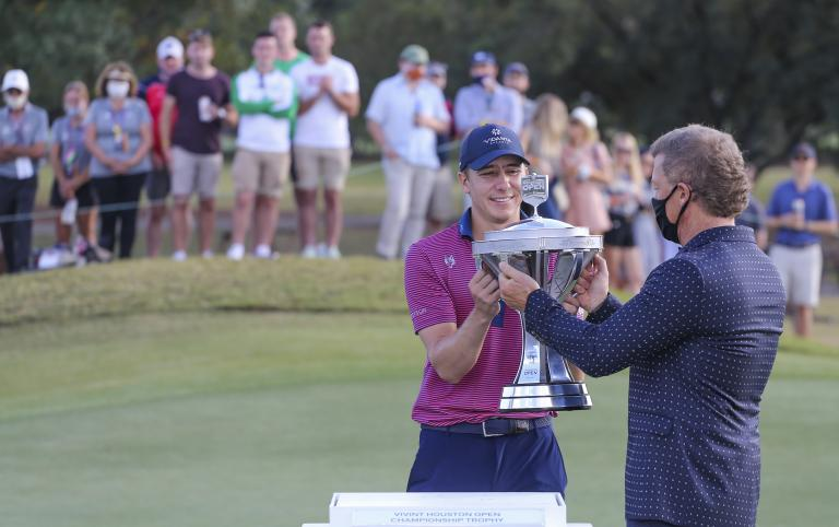 Carlos Ortiz claims maiden PGA Tour title at Houston Open