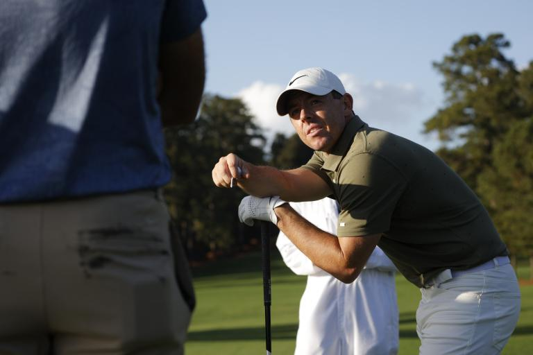 Golf fans react to Rory McIlroy THUMPING his new TaylorMade SIM2 driver