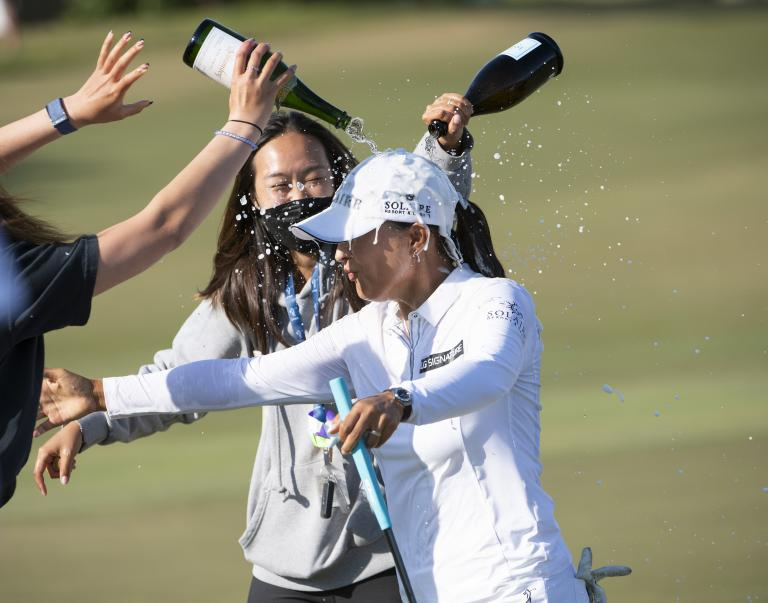 Ko wins LPGA's season-ending CME Group title in a flourish